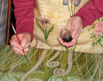 painting on silk