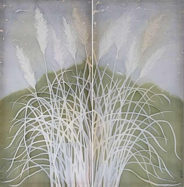 Margaret Wilmot - Giant Grasses, Nepal (pair) - £350