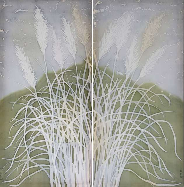 Giant Grasses, Nepal (pair) - £350