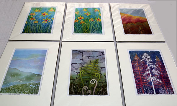 Margaret Wilmot - Selection of mounted prints
