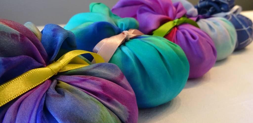 Margaret Wilmot - Hue and Dye - lavender bags