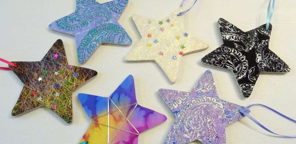 Star Decorations Hue and Dye